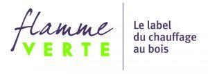 Logo Flamme Verte Label chauffage au bois