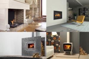 Multifenètre large ambiance foyers et poêle bois LORFLAM DOVRE solution de chauffage