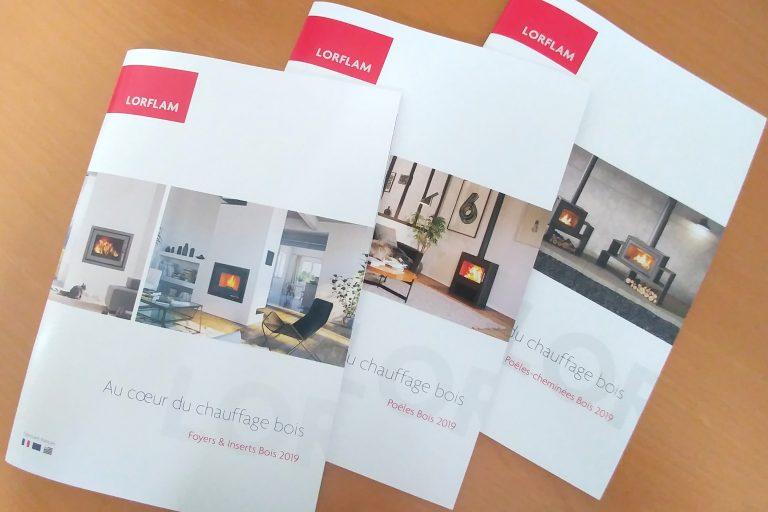 Nouveaux catalogues Lorflam 2019