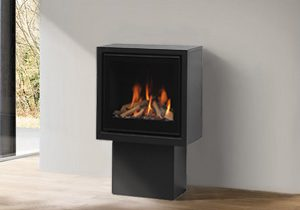 LORFLAM insert gaz collection PLANO 1 sur pied